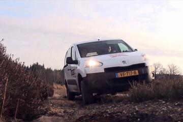 Afscheid duurtest - Peugeot Partner Dangel 4x4
