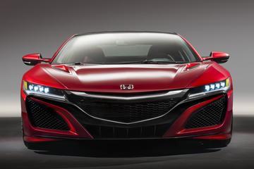De NSX nu als Honda