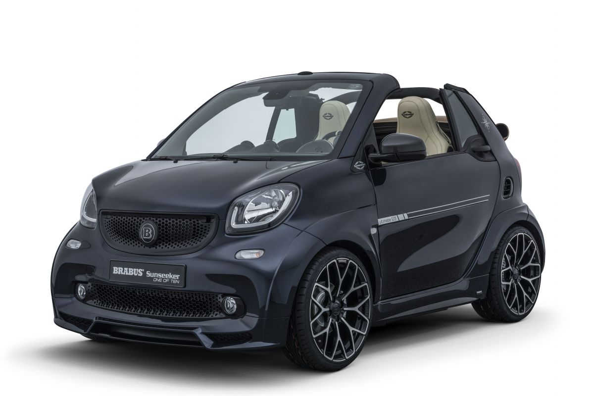brabus neemt smart fortwo cabrio onder handen autonieuws. Black Bedroom Furniture Sets. Home Design Ideas