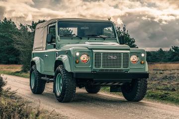 Heritage Customs Vintage is 'oude' Land Rover Defender