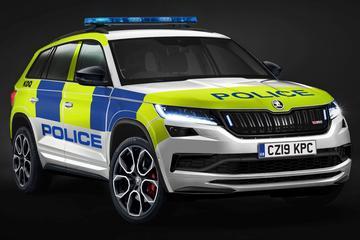 Britse politie kiest Skoda Kodiaq RS