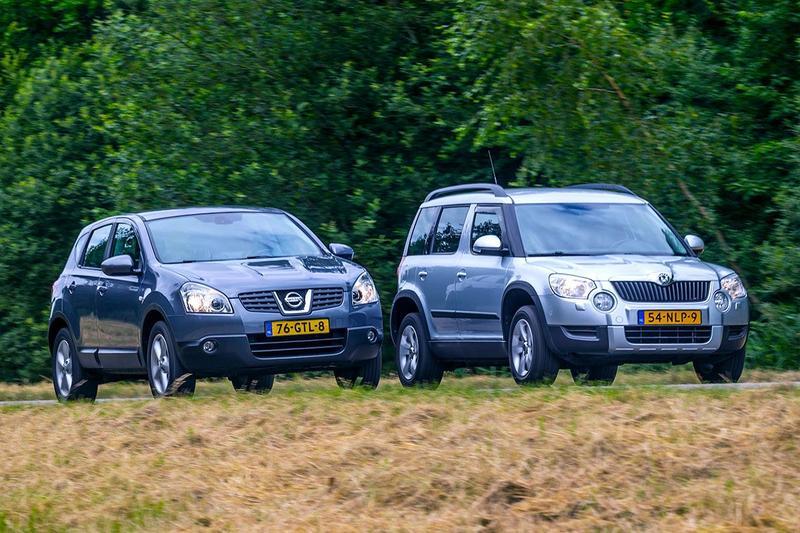 Nissan Qashqai vs. Skoda Yeti - Occasion Dubbeltest