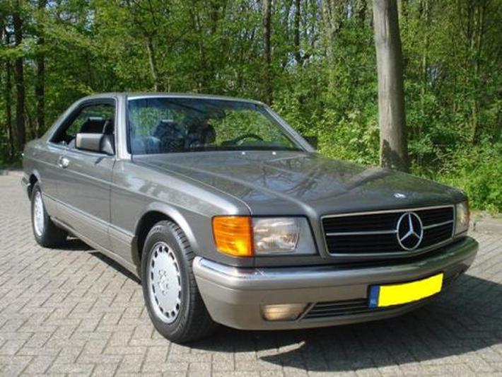 Mercedes-Benz 500 SEC (1990) #2