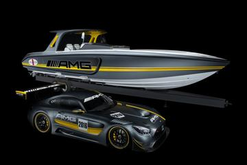 Mercedes AMG GT3 inspireert Powerboat