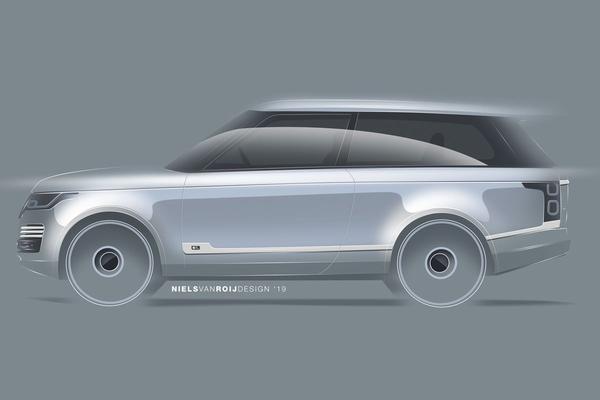 Exclusieve Range Rover 'Coupé' op komst