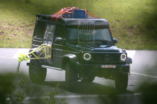Mercedes-Benz werkt aan nieuwe G-klasse 4x4²