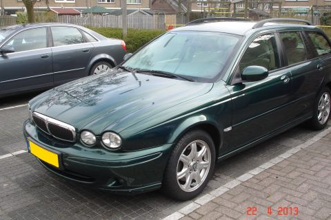 jaguar x type estate 2 0 v6 business plus 2004. Black Bedroom Furniture Sets. Home Design Ideas