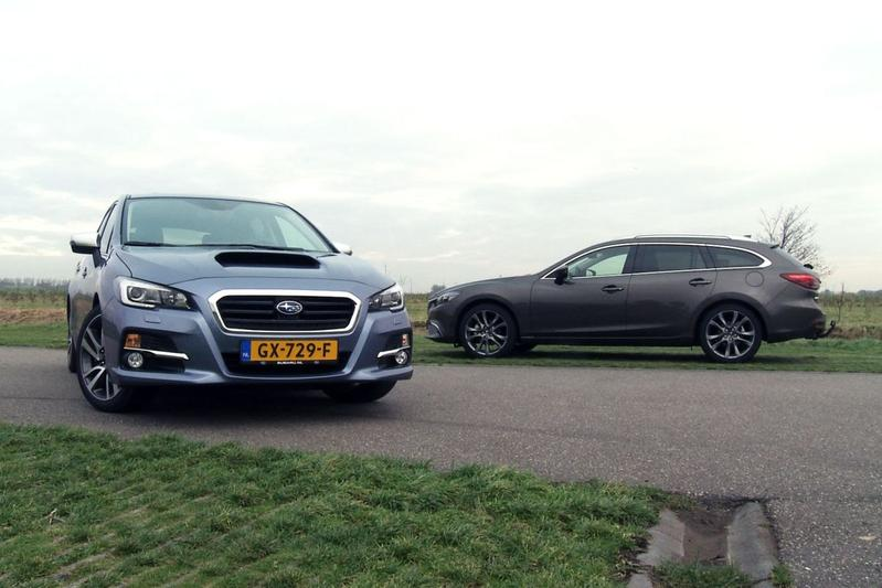 Dubbeltest - Subaru Levorg vs. Mazda 6 Sportbreak