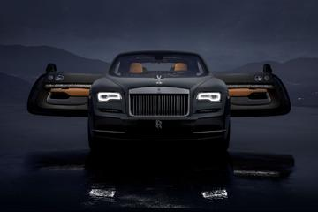 Rolls-Royce komt met Wraith Luminary Collection