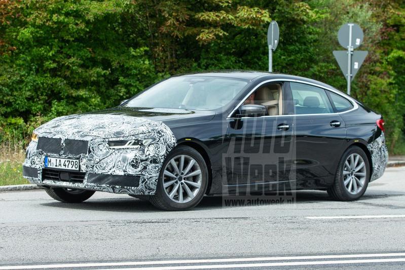BMW 6-serie GT facelift spionage