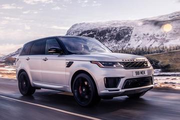 Range Rover Sport HST breekt los