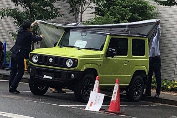 Opnieuw in beeld: Suzuki Jimny