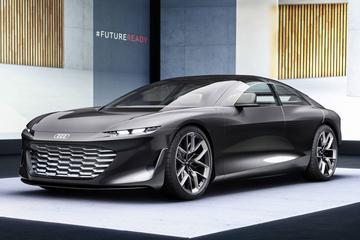Audi Grandsphere: autonome superlimo