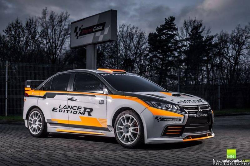 Dytko Sport Mitsubishi Lancer Evolution Edition R