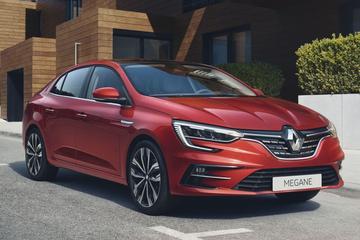 Facelift voor Renault Mégane Sedan