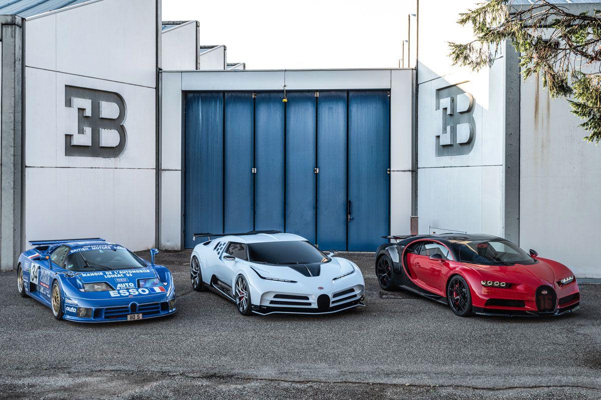 Bugatti Centodieci EB110