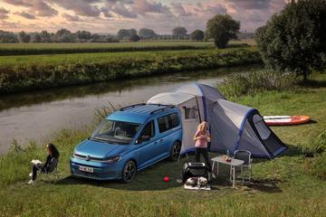 Volkswagen Caddy California klaar voor de vakantie