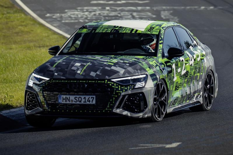 Audi RS3 Limousine Nurburgring