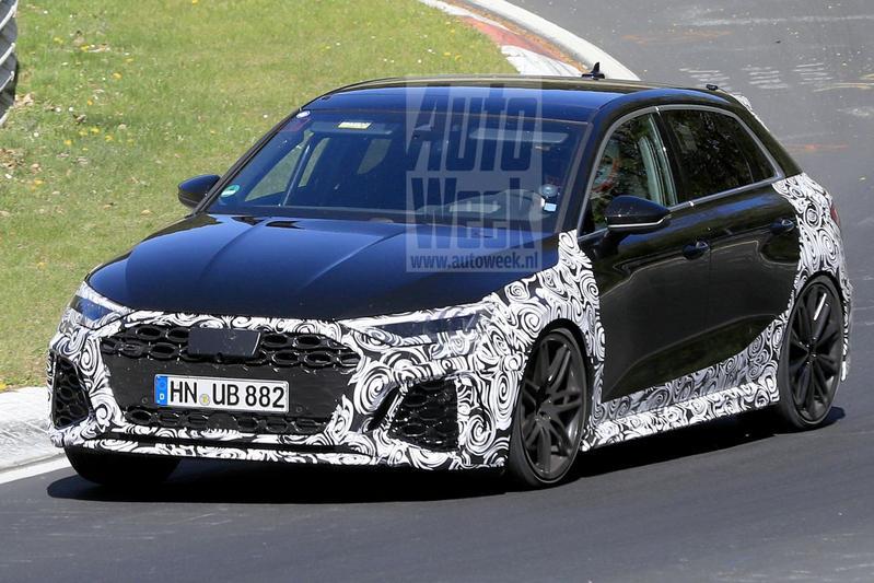 Audi RS3 Spionage