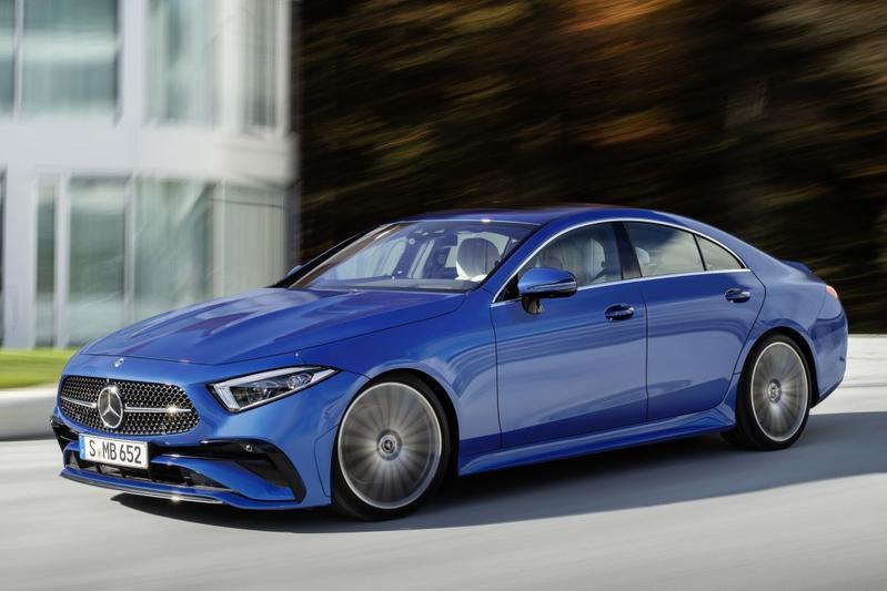 Mercedes-Benz CLS facelift 2021