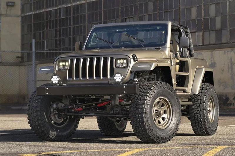 Quadratec Jeep YJL