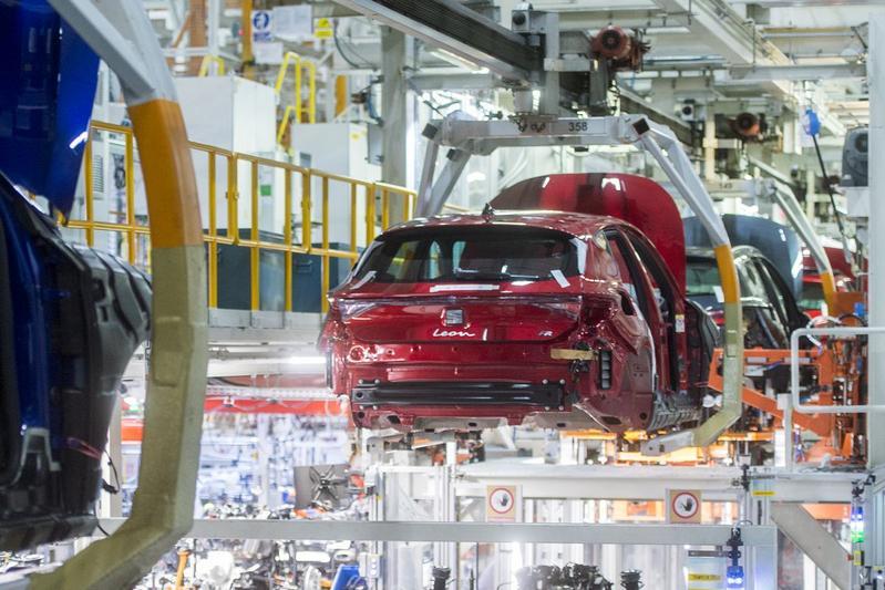 Seat productie Martorell Spanje fabriek Seat Leon