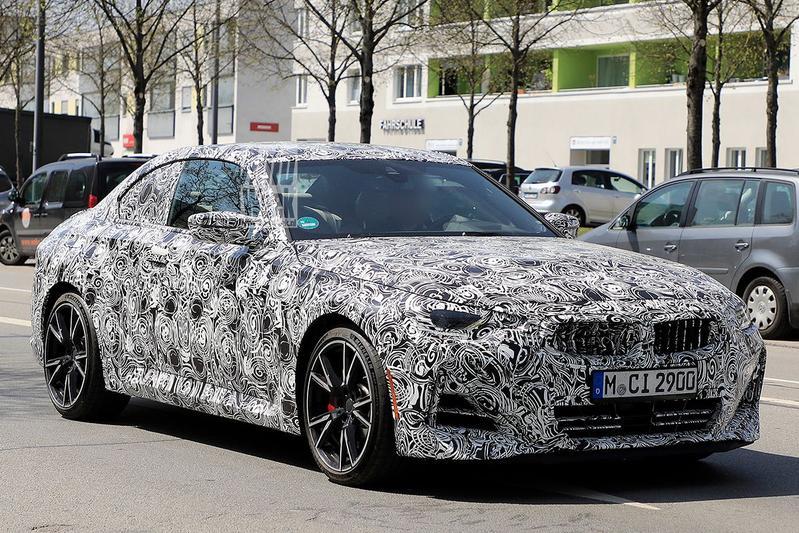 Spyshots BMW 2-serie Coupé