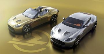 Gelimiteerde tweeling: Aston Martin Vantage V12 Zagato Heritage Twins
