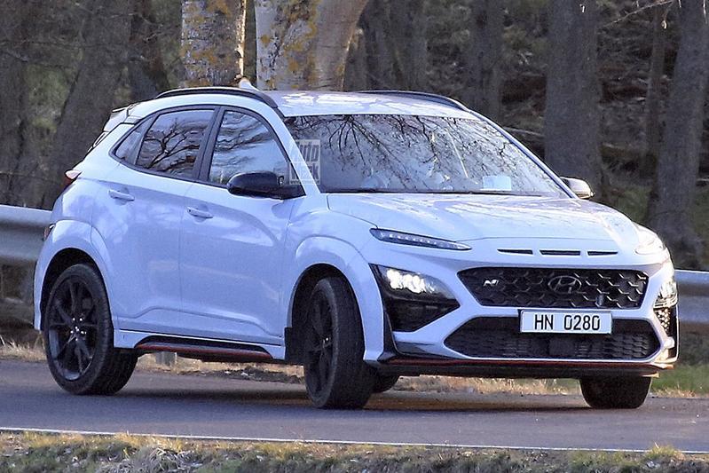 Spyshots Hyundai Kona N