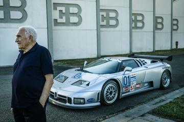 EB110-bedenker Romagna reageert op Bugattigeruchten