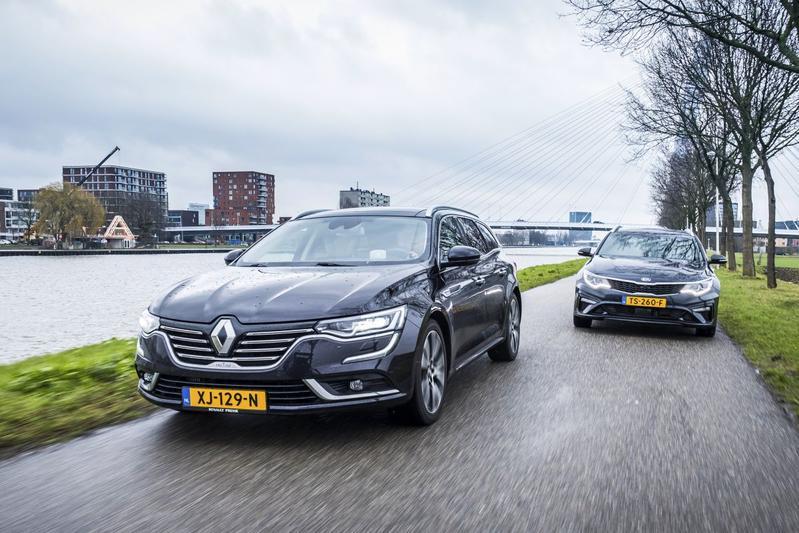Kia Optima - Renault Talisman - Dubbeltest