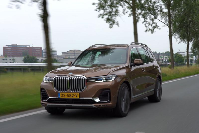 BMW X7 - Rij-impressie