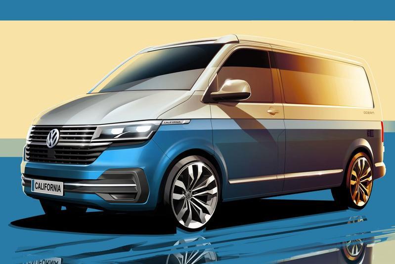 Volkswagen California teaser
