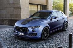 Maserati Levante volgens Novitec