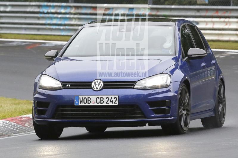 Volkswagen test mysterieuze Golf R