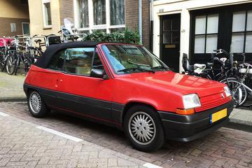 In het wild: Renault 5 cabrio (1990)