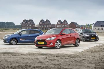 Ford Fiesta 1.0 Ecoboost - Hyundai i20 1.0 T-GDI - Suzuki Baleno 1.0 Boosterjet