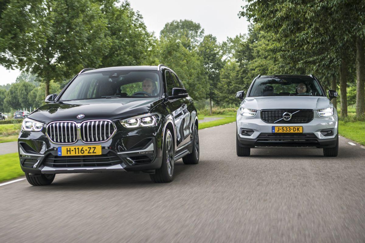 BMW X1 Volvo XC40 plug-in hybride