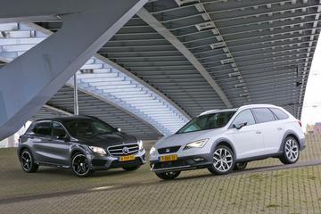 Mercedes-Benz GLA - Seat Leon ST X-Perience