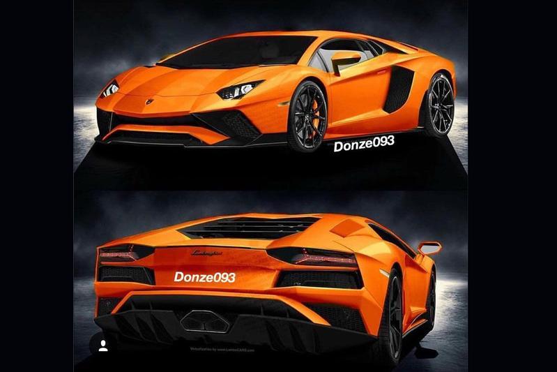 Vernieuwde Lamborghini Aventador in beeld