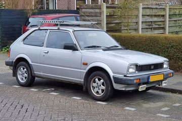 In het Wild: Honda Civic (1983)