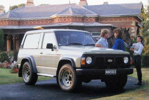 De Tweeling: Nissan Patrol - Ford Maverick