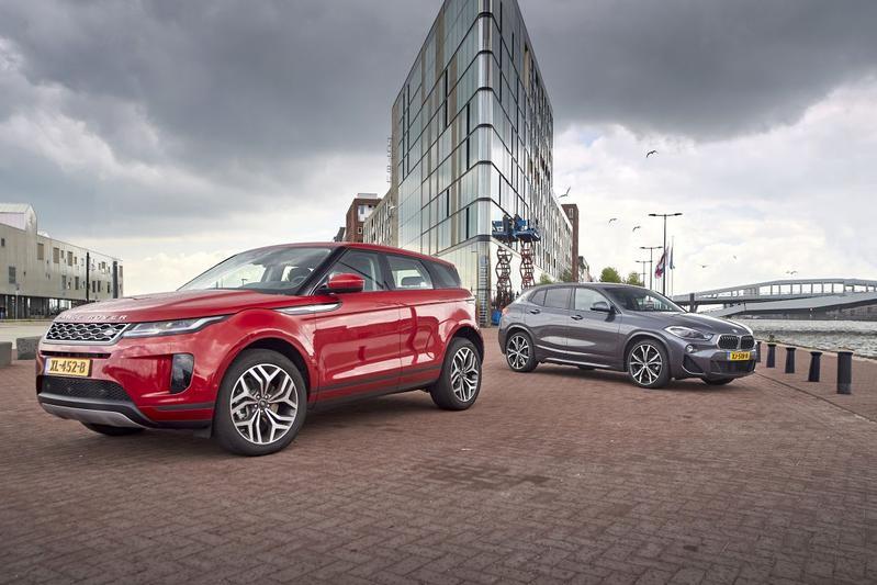 Range Rover Evoque - BMW X2 - Dubbeltest