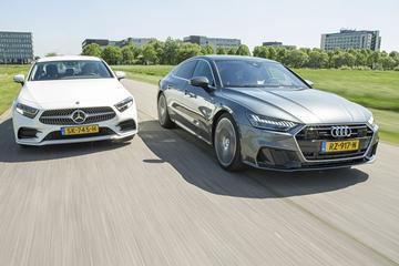 Audi A7 vs. Mercedes-Benz CLS - Dubbeltest