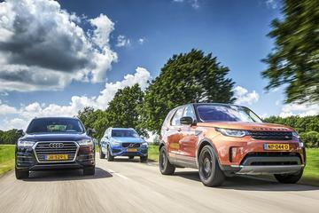 Audi Q7 - Land Rover Discovery - Volvo XC90