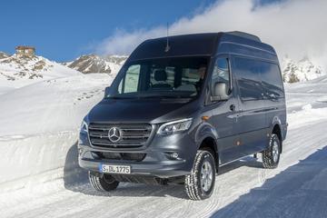 Mercedes-Benz Sprinter 4x4 gepresenteerd