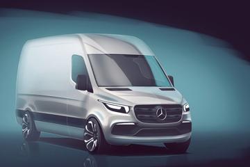 Mercedes-Benz schetst nieuwe Sprinter