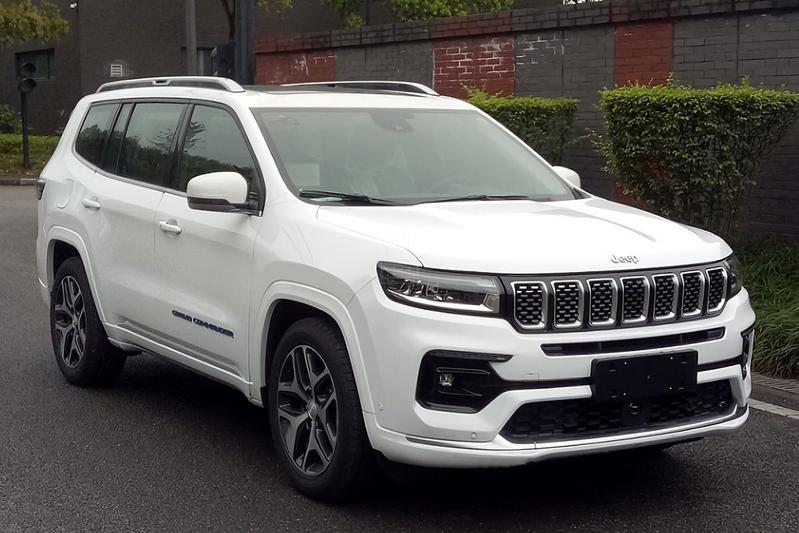 Jeep Grand Commander facelift