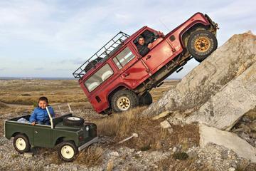 Land Rovers op de Falklandeilanden - Achtergrond