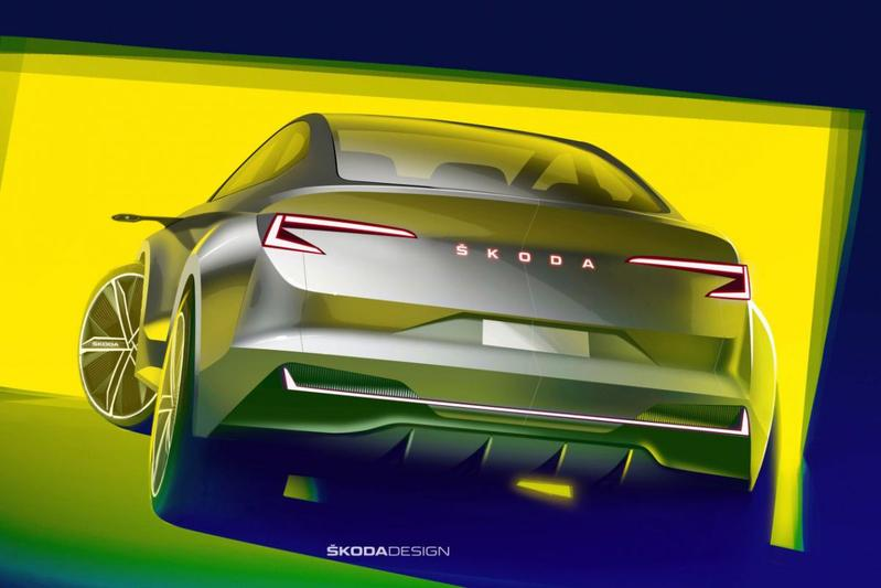 Skoda Vision iV concept-car